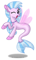 Silverstream (Seapony) by AleximusPrime