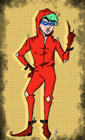 Sassy Cartoon Jackieboy Man~ by SpunketPunk