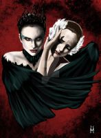 Black Swan 2 by M-lovedAngel