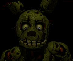 [SFM FNAF Remake] Springtrap Jumpscare Thing 1 by Fazbearmations