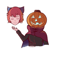 Sekibanki by winterwolf38