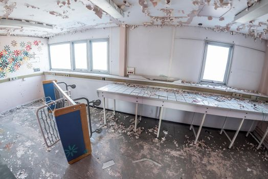 Abandoned St-Vincent Nursery by Anantaphoto