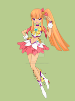 Nangfa Heartcatch precure form by JaroOrionStryker