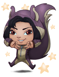 Commission: Squirrel Chibi by KidiMaster