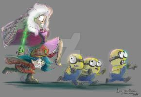 Minions are freakishly annoying! by Mad--Munchkin