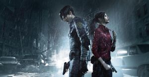 Resident Evil 2 Artwork Leon and Claire by xGamergreaserx