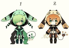 Kemonomimi specie Adoptables closed by AS-Adoptables