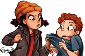 Spinelli and Randall by sharkie19