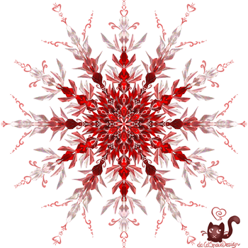 Flower of Red by CatSpaceDesign