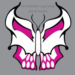 Iron Butterflies Logo by GoaliGrlTilDeath