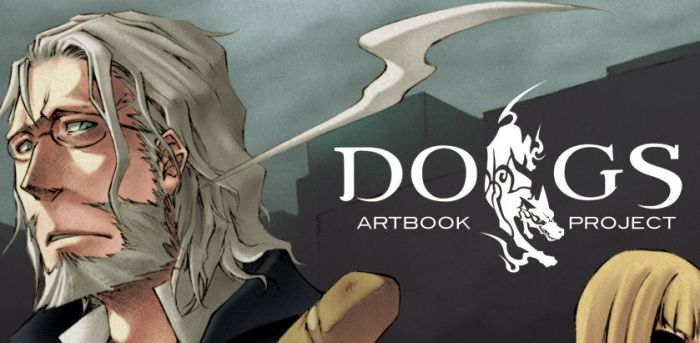 DOGS - art book preview by pandabaka