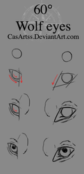 Wolf eyes tutorial (60degree angle) by CasArtss
