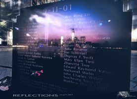 Reflections on 9/11 2013 by AugenStudios