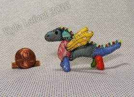 Mini Patchwork Dragon No. 23 by Kyle-Lefort