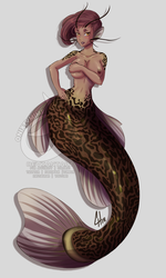 MerMay 2018: 3 - Catfish by OnixTymime