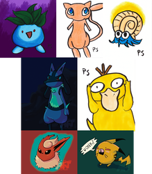 Pokeddexy 2014- Days 14 to 20 by anime-freak-trish