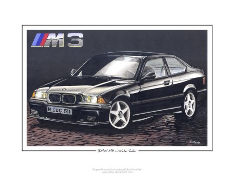 BMW M3 in Water Color by idhuy