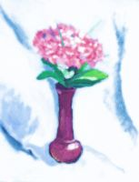 Flowers in a Vase by Daryl-the-cartoonist