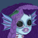Concept art for our new merbaby! by PuppyBaby15