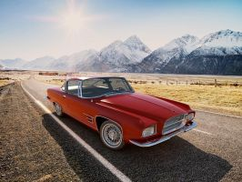 1960 Chrysler Dual-Ghia L6-4 coupe by melkorius