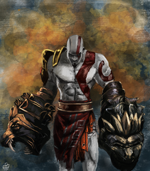 God Of War by leseraphin