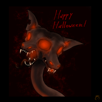 Halloween Contest Entry by CoffeeAddictedDragon