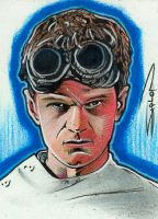 Dr. Horrible Sketch Card by RandySiplon