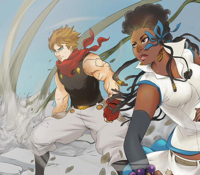 Nia And Neily Vf by goodgrace1