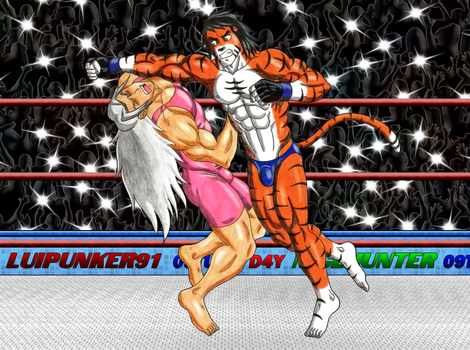 This Lariat will knock you down dogbreath 4 by Luipunker91