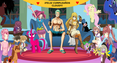 Feliz Cumple Hermanita by Zoro1000