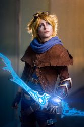 League of Legends - Ezreal by Minus10GradCelsius