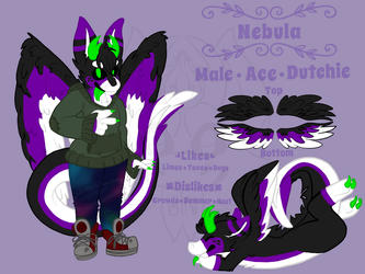 Nebula [REF SHEET] by butter-nebula