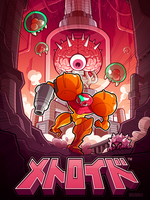 Metroid 30th anniversary by MathieuBeaulieu