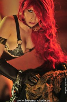 Geek and Sexy - Red Sonja by MorganaCosplay