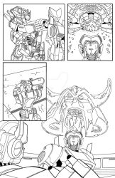 Transformers - Cybertronians page 19 ink by shatteredglasscomic
