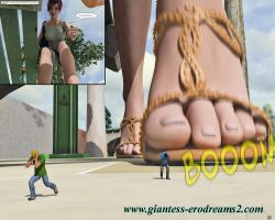 Giantess Erodreams2 - catching tiny men by ilayhu2
