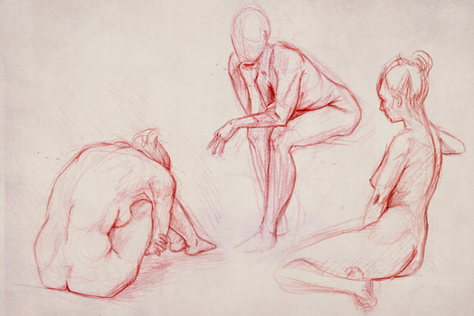 Life Drawing 09.19 by GemmaDuffill