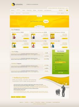 Symantec Security Layout by FredericoFelix