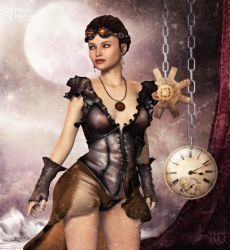 Steampunk Nostalgia by RavenMoonDesigns