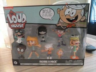Loud House Figure 8 Pack by CandyRandy7D
