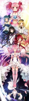 Collaboration: Puella Magi Madoka Magica by Rurutia8