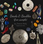 Beads and Baubles (free sample) by Majnouna