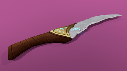 Elf Blade [Original Design By User: CarlSpringer] by JigglyRitz