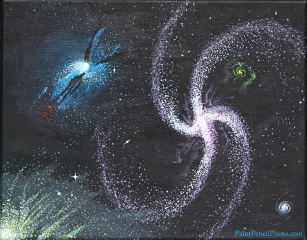 Galaxy #2 by PaintPencilPhoto