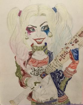 Harley Quinn  by CarboneMartina333