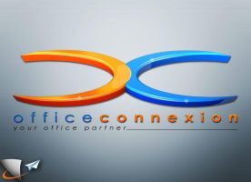 Office connexion 3D logo by Infoworks