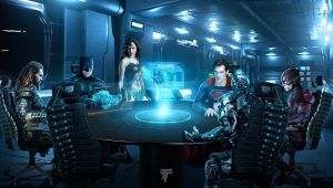 Justice League Roundtable by Timetravel6000v2
