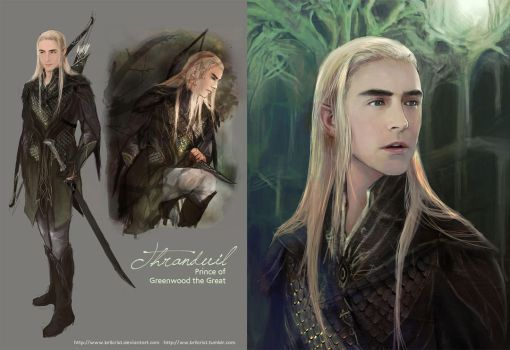 Young Thranduil Design by Brilcrist
