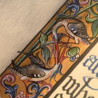 Detail of Birds by Merwenna