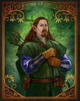Larp Character Portrait Commission- Curon by UlaFish